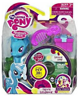 My Little Pony friendship is Magic Trixie lunamoon brushable G4 mlp wedding MIP