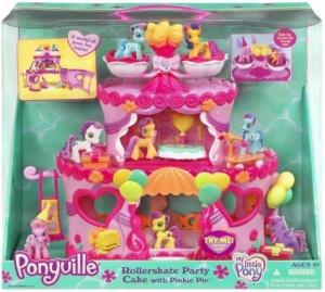 Mib Rollerskate Party Cake