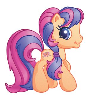 G3 5 Scootaloo My Little Wiki While the mane 6 and the rest of the cmc were worried, the kidnapper after a long day of flight practice with scootaloo, rainbow dash teaches the filly a little about preening. my little wiki