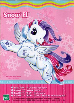 Snow El Ii My Little Wiki