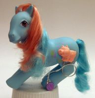 G1 Precious Pocket Ponies My Little Pony G1 Bunny Hop  Hopping Pocket