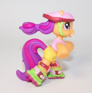Ponyville Scootaloo My Little Wiki Scootaloo is also cheerilee's younger sister in generation 3; my little wiki